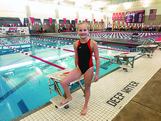"""<div class=""""source""""></div><div class=""""image-desc"""">Madeline Meredith, the 8-year-old daughter of Andy and Whitney Meredith, has set a state record in swimming.</div><div class=""""buy-pic""""></div>"""