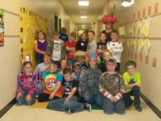 """<div class=""""source""""></div><div class=""""image-desc"""">Sherry McMillion's class had fun on Crazy Hat/Crazy Hair Day.</div><div class=""""buy-pic""""><a href=""""/photo_select/31616"""">Buy this photo</a></div>"""