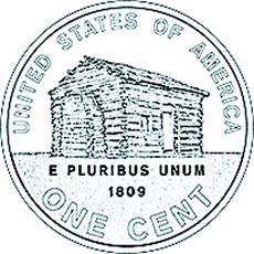 "<div class=""source""></div><div class=""image-desc"">A depiction of Abraham Lincoln's modest upbringing in cabins around Hodgenville is on the reverse of the newly released penny.</div><div class=""buy-pic""><a href=""/photo_select/5400"">Buy this photo</a></div>"
