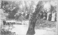 """<div class=""""source"""">Submitted photo</div><div class=""""image-desc"""">This Oak Hill Baptist Church congregation posed for a photo before a baptism in the early 1900's.</div><div class=""""buy-pic""""><a href=""""/photo_select/30698"""">Buy this photo</a></div>"""
