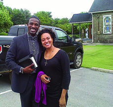 """<div class=""""source"""">submitted photo</div><div class=""""image-desc"""">Rev. Aaron and Shavone Moss Sr. have been at Lane Lincoln CME Church for three years. The church held an Appreciation Day in their honor Sunday.</div><div class=""""buy-pic""""><a href=""""/photo_select/36205"""">Buy this photo</a></div>"""