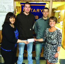"""<div class=""""source""""></div><div class=""""image-desc"""">The Hodgenville Rotary Club donated $250 to Project Graduation. From left, Project Graduation chairperson Karen Adkins, LaRue County High School seniors Tyler Howell and Thomas Harman and Rotarian Katie McDowell. </div><div class=""""buy-pic""""><a href=""""http://web2.lcni5.com/cgi-bin/c2newbuyphoto.cgi?pub=029&orig=rotary_project_grad_0.jpg"""" target=""""_new"""">Buy this photo</a></div>"""