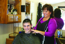 "<div class=""source"">Photo by Rebecca Roscoe</div><div class=""image-desc"">Sherrie Vittitow laughs after customer Chad Gray, 16, commented, ""I remember when my dad first brought me in to the shop – he said he remembered getting haircuts in here when he was younger."" </div><div class=""buy-pic""><a href=""http://web2.lcni5.com/cgi-bin/c2newbuyphoto.cgi?pub=029&orig=sherries_today.jpg"" target=""_new"">Buy this photo</a></div>"