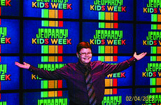 """<div class=""""source"""">Submitted photo</div><div class=""""image-desc"""">Hornback on the set of Jeopardy.</div><div class=""""buy-pic""""><a href=""""/photo_select/29101"""">Buy this photo</a></div>"""