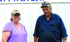 "<div class=""source"">Photo by Linda Ireland</div><div class=""image-desc"">LaRue County Fair Board members Ann ""Snookie"" Morrison, vice president, left, and Jimmie Engle, president.  </div><div class=""buy-pic""><a href=""http://web2.lcni5.com/cgi-bin/c2newbuyphoto.cgi?pub=029&orig=snookie%2Band%2Bjimmie.jpg"" target=""_new"">Buy this photo</a></div>"