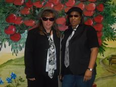 """<div class=""""source""""></div><div class=""""image-desc"""">Carlene Gibson and Sue Williamson dressed as the Blues Brothers for Career Day.</div><div class=""""buy-pic""""><a href=""""/photo_select/31617"""">Buy this photo</a></div>"""