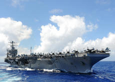 """<div class=""""source"""">MCSN Adam Randolph</div><div class=""""image-desc"""">PACIFIC OCEAN - The Nimitz-class aircraft carrier USS Abraham Lincoln (CVN 72) transits the Pacific Ocean. The Abraham Lincoln Carrier Strike Group is returning from a scheduled deployment to the U.S. 7th and 5th Fleet areas of responsibility supporting maritime security operations and theater security cooperation efforts. </div><div class=""""buy-pic""""><a href=""""/photo_select/41257"""">Buy this photo</a></div>"""