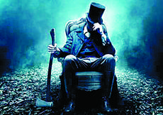 """<div class=""""source""""></div><div class=""""image-desc"""">Abraham Lincoln:Vampire Hunter may not be for Lincoln purists – but hold the criticism until after you've watched that lanky man wreak havoc on the undead with his silver-plated ax. </div><div class=""""buy-pic""""></div>"""