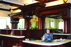 "<div class=""source"">Photo by Rebecca Roscoe</div><div class=""image-desc"">The teller counter at West Point Bank was once a part of a bar from an upscale hotel and casino in California. Here, tellers Linda Jaggers, right, and Stephanie Lawless work behind the counter that has wowed many customers and visitors. </div><div class=""buy-pic""><a href=""/photo_select/29262"">Buy this photo</a></div>"