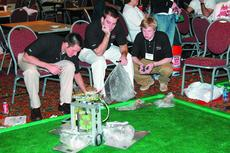 """<div class=""""source""""></div><div class=""""image-desc"""">Western Kentucky University's electrical engineering juniors and seniors placed seventh in the Institute of Electrical and Electronics Engineers Southeastern Regional Conference Student Hardware Competition in Atlanta on March 7. WKU's robot was awarded t</div><div class=""""buy-pic""""><a href=""""/photo_select/2544"""">Buy this photo</a></div>"""