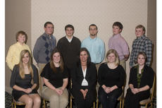 """<div class=""""source"""">Chuck Grove, American Angus Association.</div><div class=""""image-desc"""">These young people will serve on the Kentucky Junior Angus Association board of directors and are pictured at the 2011 Kentucky Angus Association Annual Banquet, March 4 in Louisville. Seated from left are Ruth Myers, Harrodsburg, reporter; Nicole Wheatley, Springfield, first vice president; Megan Cole, Lancaster, president; Maggie Jasper, Versailles, secretary; and Amanda Goggin, Danville, reporter. Back, Levi Stephenson, Carrollton, director; Benjamin Conner, Hodgenville, director; Sheldon Burks, Park City, director; Reese Johnson, Slaughters, director; Corbin Cowles, Rockfield, director; and Blake Boyd, Mayslick, second vice president.</div><div class=""""buy-pic""""></div>"""