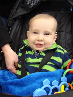 Ben Stinnett enjoyed his first Lincoln Days.