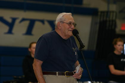 Director emeritus Gene Hoggard