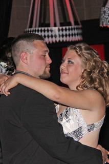 Cody Key and Trishtian Cruse danced the night away at the LCHS Prom.