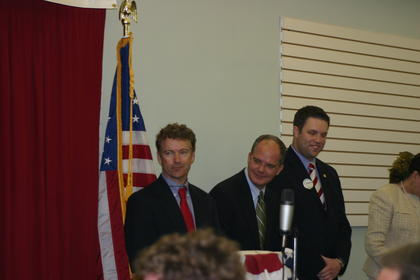 U.S. Sen. Rand Paul, U.S. Rep. Brett Guthrie and State Rep. Michael Meredith