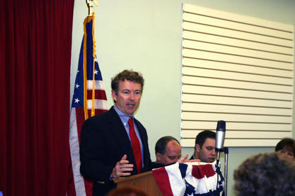 U.S. Sen. Rand Paul was keynote speaker at the March 22 Lincoln Dinner.