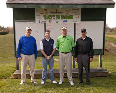 Kentucky National Bank: Justin Howard, Matt Shelton, Gerald Hignite, Cutler Bridges