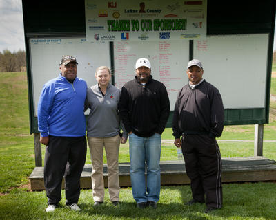 Team Jolly: Simon Ford, Katie Peterson, Jeff Bufford, Vince Brown