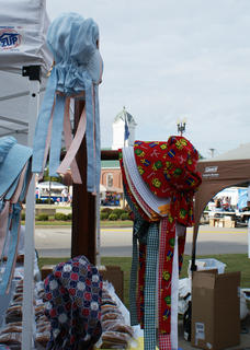 A variety of crafts was offered in downtown Hodgenville.