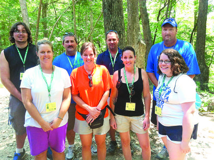 (left to right) Jason Wheeler, Michelle Becker, Mark Rock, 