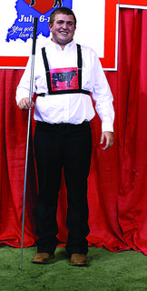 Benjamin Conner, Hodgenville, represented Kentucky at the 2014 National Junior Angus Showmanship Contest, held in conjunction with the National Junior Angus Show, July 6-12 in Indianapolis, Indiana. Forty-three youth from across the country competed for top honors in the 48th annual event.