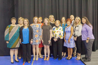 The 2016-17 LaRue County Chamber of Commerce boards of directors are: from left Marsha Duncan, LaRue County Schools; Allison Shepherd, Past President,  LaRue County Herald News; Krista Levee, Executive Director; Madison Royalty, Youth board member, Patty Holbert,  President-Elect, LaRue County Extension Service; Ally Rae Milford, Youth board member; Natilea Boyd,  Secretary, Lincoln National Bank; Nina Cundiff;  Stefanie Rock, Magnolia Bank; Pam Stephens , Treasurer, Lincoln National Bank; Daniel Carpenter, LaRue County Extension Service; Teleana Davis, President, Magnolia Bank; Angel French, Campbellsville University. Not pictured are board members, Katie McDowell, Fort Knox Federal Credit Union; Beth Cassity, Elizabethtown Community and Technical College; and Josh Singer, Blazin Xpressions.