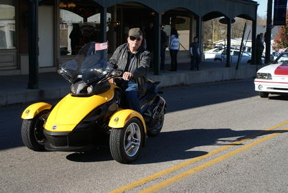 Jim Keith wrote a Can-Am in the parade.