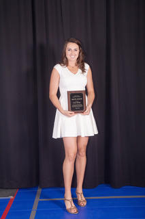 The 2016 Spirit Award was presented to Erin Boley, of Hodgenville, based on the contributions that have improved the life and spirit of the community. Boley has gained national attention for her athletic and academic achievements, including Miss Kentucky Basketball, Gatorade player of the Year, and has committed to playing basketball at Notre Dame this fall.