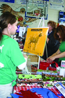 The 4-H Goat Club had displays and information at the Expo.