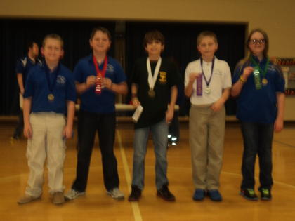 Social Studies Assessment – First, Gavin Whitehouse, ALES; second, Isaiah Pruitt, ALES; third, Stone Boone, Boston; fourth, Connor Baker, HES; fifth, Adara Dobson, ALES.