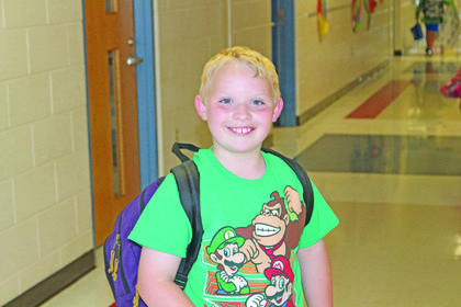 Noah Lyvers smiled as he boarded the bus on the last day of school.