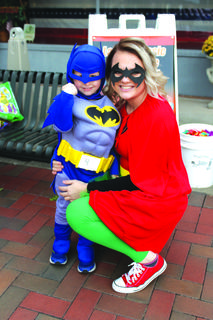 Lauren Zahrndt and Cooper, 3, made a great mother son dynamic duo.