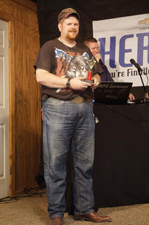 Karaoke contest 2nd place Brian Sprowles