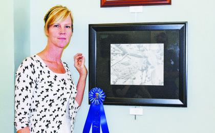 'Beautiful Emptiness,' Carol Thompson's pencil piece was the Open Division first place recipient.