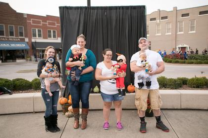 Under 1 year old. Most Original – Parker Probst; Funniest – Colton Kresel;  Scariest – Jack Nance; Cutest – Keira Fields