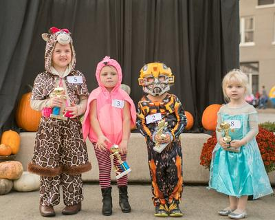 3-4 year old. Most Original – Kenna Powers; Funniest – Audrey Jo Perkins;  Scariest – Ezra Fortier; Cutest – Paisley McCoy