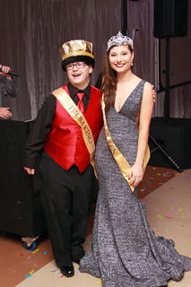 Sean Damore was crowned Prom King and Grace Armes was crowned Prom Queen.