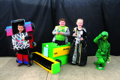 5-6 year old winners:  Hunter Locke, Most Original; Asa Perkins, Funniest; Saylor Perry, Scariest; and Ellie Grace Day, Cutest.