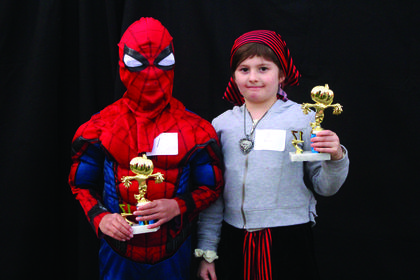 7-8 year old winners:   Virak Cheang, Scariest and  Annabelle Leonard, Cutest.