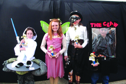 9-12 year old winners:  Isabella Day, Funniest; Bailey Litton, Cutest; Allie Whitman, Scariest and Camden Martin, Most Original.