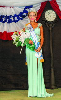 Cayleigh Allen Ashtian Allen was crowned Miss LaRue County Fair