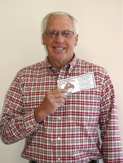 Ronnie French, The Sweet Shoppe & Dessert Cafe winner