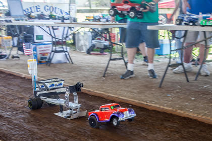 The Central Kentucky Radio Control Pullers had several entries for their show at the fair.