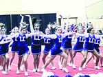 LCMS Cheerleaders compete at State KAPOS