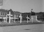 1950s: Crosses honor Veterans in Square