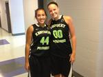Ivy Brown, Alexis Brewer, All-Star Game