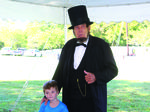 Students Take a  'Walk Through Lincoln's Life'