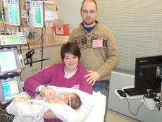 """<div class=""""source""""></div><div class=""""image-desc"""">Jaxton Davis Flowers was born with a heart defect. A benefit is being held April 18 to assist the family with medical bills. At left, Jaxton is with his sister, Addisyn, and his dad and mom, Ryan and Amanda Flowers.</div><div class=""""buy-pic""""></div>"""