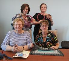 "<div class=""source"">Submitted Photo</div><div class=""image-desc"">LaRue County Cro-knitters met the at LaRue County Library on May 21. Nina Booher, and Mandy Sadler learned to loom knit, Doris Spratt worked on a knitted bib, and Candy D. Vincent worked on a crocheted baby blanket. The group meets on the 3rd Tuesday of every month. The next meeting is June 18 and everyone is welcome. </div><div class=""buy-pic""><a href=""/photo_select/63768"">Buy this photo</a></div>"