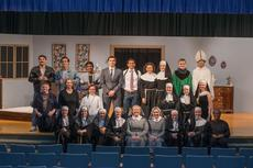 "<div class=""source"">Photo by Cam Lalsey</div><div class=""image-desc"">LCHS Speech/Drama and Chorus clubs performed ""Sister Act"" on March 22-25. Sister Act is a 1992 American musical comedy starring Whoopi Goldberg. LCHS Speech and Drama Teacher Katy Cecil said their version of Sister Act is a musical written for the stage. She said it tells the same story, but the music in the play is all original music and it is not the same music from the movie. Members of the play are pictured front row from left: Cassandra Wiley, Helen Anderson, Kristen Williams, Machaela LeClear, Taylor Metcalf, Kaylee Whiteman, Bridgett Weaver and Haley Evans. Middle row from left: Ryan Stillwell, Lydia Becker, Tayler Darnell, Sarah Selman, Kelsey Key and Sophie Akin. Back row from left: Dalton Bell, Ethan Johnson, Luis Serrano, Isaac Johnson, Christian Silva, Kylie Thurman, Alexia Trumbo, Parker Anderson and Nate Risner.</div><div class=""buy-pic""><a href=""/photo_select/58583"">Buy this photo</a></div>"
